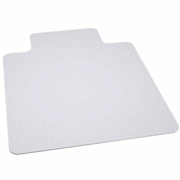 Wholesale 45'' x 53'' Big & Tall 400 lb. Capacity Carpet Chair Mat with Lip