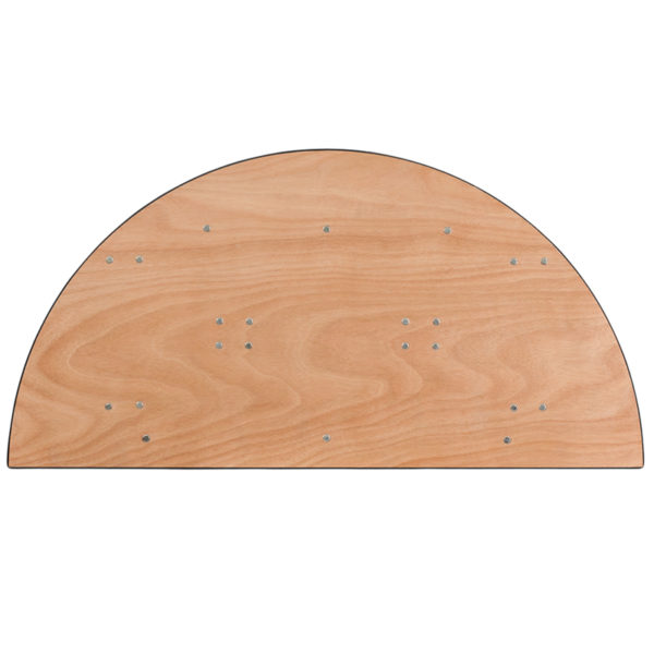 Ready To Use Banquet Table 48HLF-RD Wood Fold Table