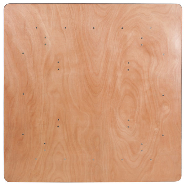 Ready To Use Banquet Table 60SQ Wood Fold Table