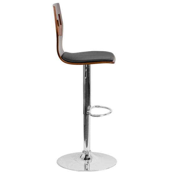 Lowest Price Adjustable Bar Stool | Counter Height Wood Bar Stoolwith Back