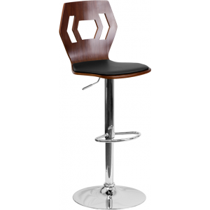 Wholesale Adjustable Bar Stool | Counter Height Wood Bar Stool with Back