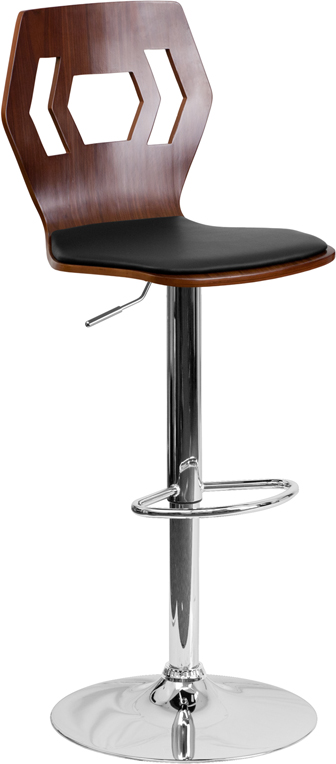 Wholesale Adjustable Bar Stool | Counter Height Wood Bar Stoolwith Back