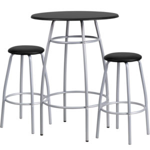 Wholesale Bar Height Table Set with Padded Stools