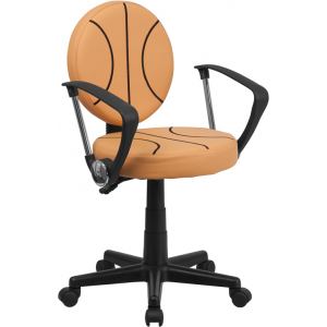Wholesale Basketball Swivel Task Office Chair with Arms