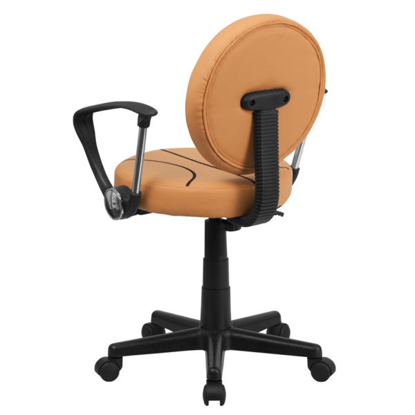 Sports Inspired Task Chair Basketball Mid-Back Task Chair