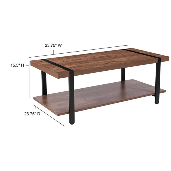 Contemporary Style Rustic Coffee Table