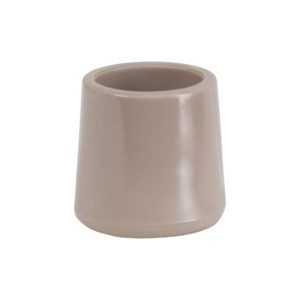 Wholesale Beige Replacement Foot Cap for Beige and Brown Plastic Folding Chairs