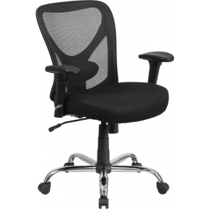 Wholesale Big & Tall Office Chair | Adjustable Height Mesh Swivel Office Chair with Wheels