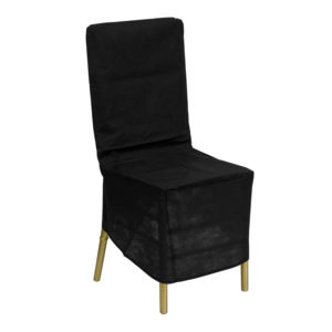 Wholesale Black Fabric Chiavari Chair Storage Cover
