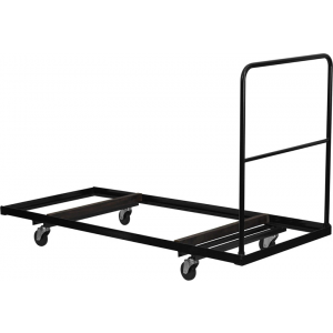 Wholesale Black Folding Table Dolly for 30''W x 72''D Rectangular Folding Tables