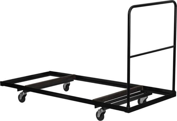 Wholesale Black Folding Table Dolly for 30''W x 72''D Rectangular Folding Tables