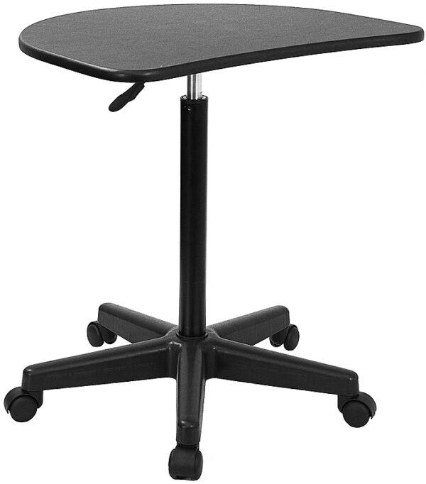 Portable Design Black Adjustable Laptop Desk