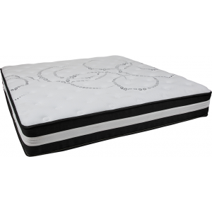 Wholesale Capri Comfortable Sleep 12 Inch Foam and Pocket Spring Mattress