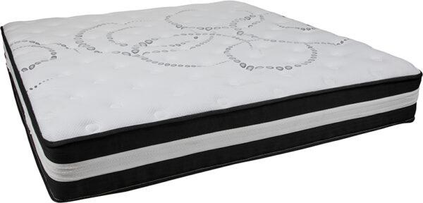 Wholesale Capri Comfortable Sleep 12 Inch Foam and Pocket Spring Mattress