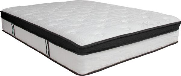 Wholesale Capri Comfortable Sleep 12 Inch Memory Foam and Pocket Spring Mattress