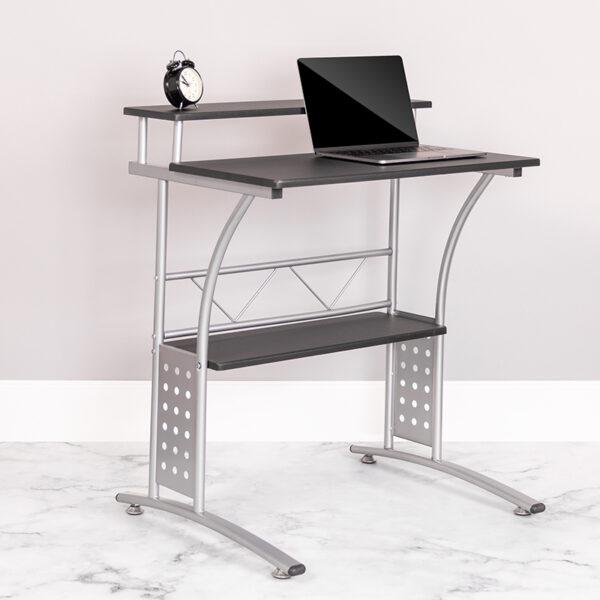 Lowest Price Clifton Black Computer Desk