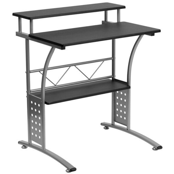 Wholesale Clifton Black Computer Desk