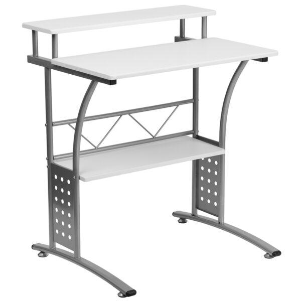 Wholesale Clifton White Computer Desk