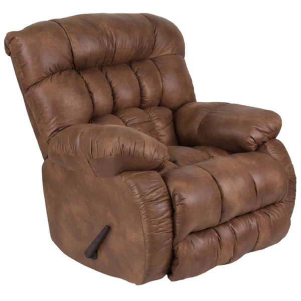 Wholesale Contemporary Breathable Comfort Padre Almond Fabric Rocker Recliner
