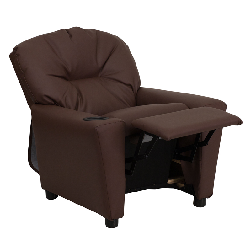 Recliner With Cup Holder Personalized, Child Recliner Chair With Cup Holder