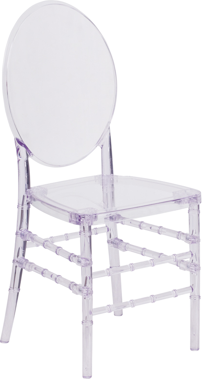 Wholesale Flash Elegance Crystal Ice Stacking Florence Chair