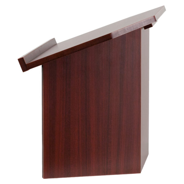 Lowest Price Foldable Tabletop Lectern in Mahogany