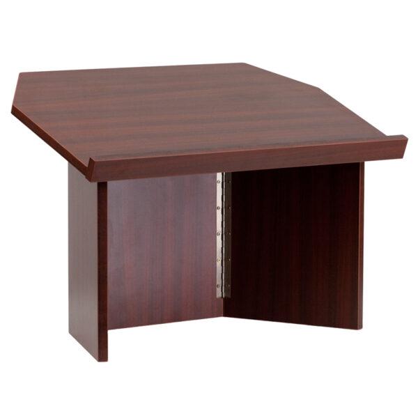 Table Lectern Mahogany Foldable Lectern