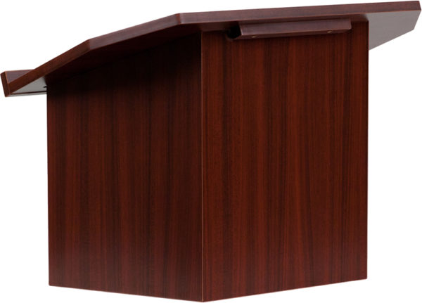 Wholesale Foldable Tabletop Lectern in Mahogany