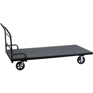 Wholesale Folding Table Dolly with Carpeted Platform for Rectangular Tables