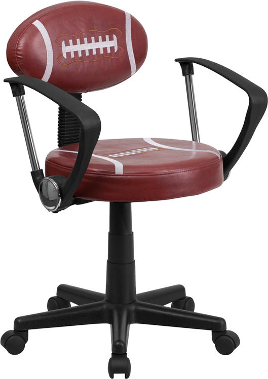 Wholesale Football Swivel Task Office Chair with Arms