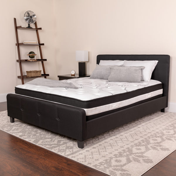 Lowest Price Full Size Mattress | Full Size High Density Foam and Pocket Spring Mattress in a Box