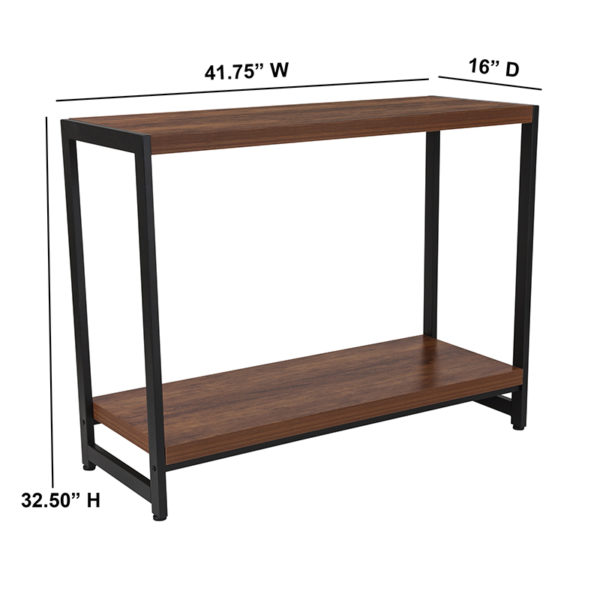 Contemporary Style Rustic Console Table
