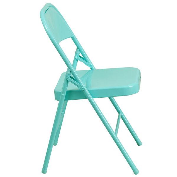 Metal Folding Chair Tantalizing Teal Folding Chair