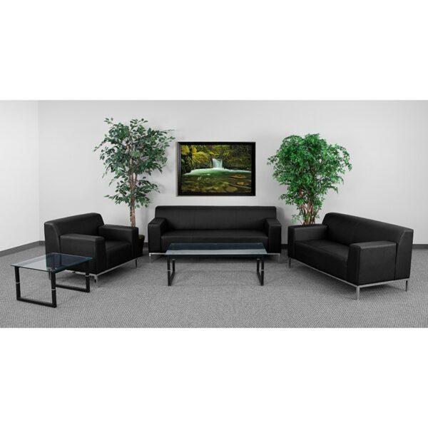 Wholesale HERCULES Definity Series Reception Set in Black