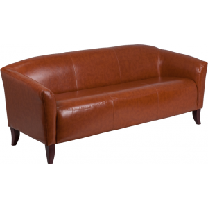 Wholesale HERCULES Imperial Series Cognac Leather Sofa
