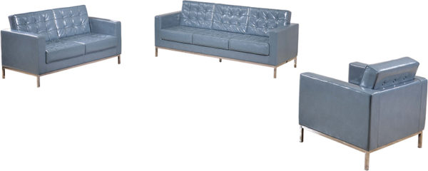 Lowest Price HERCULES Lacey Series Reception Set in Gray