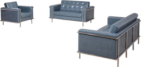 Lowest Price HERCULES Lesley Series Reception Set in Gray