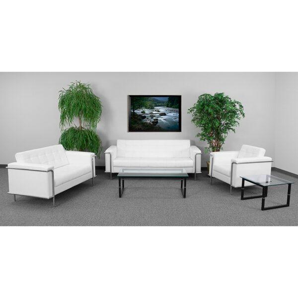 Wholesale HERCULES Lesley Series Reception Set in Melrose White