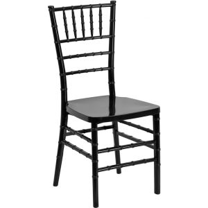 Wholesale HERCULES PREMIUM Series Black Resin Stacking Chiavari Chair