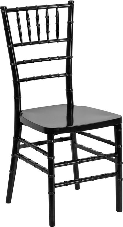 Wholesale HERCULES PREMIUM Series Black Resin Stacking Chiavari Chair