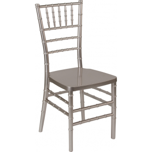 Wholesale HERCULES PREMIUM Series Pewter Resin Stacking Chiavari Chair
