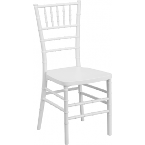 Wholesale HERCULES PREMIUM Series White Resin Stacking Chiavari Chair