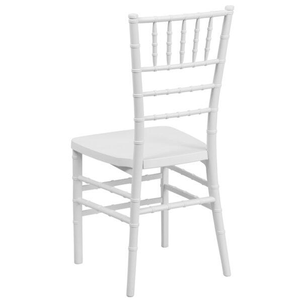 Chiavari Seating White Resin Chiavari Chair