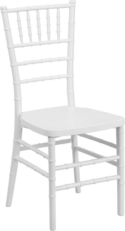 Wholesale HERCULES PREMIUM Series White Resin Stacking Chiavari Chair