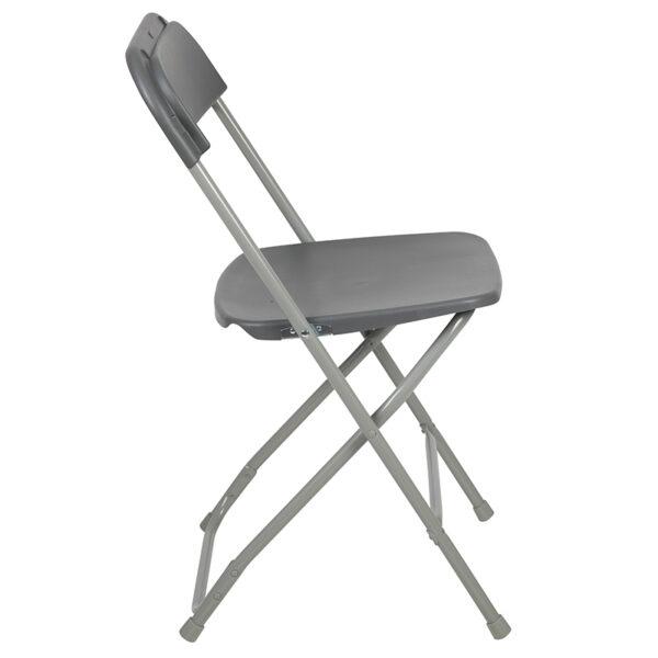 Grey Plastic Folding Chair Grey Plastic Folding Chair