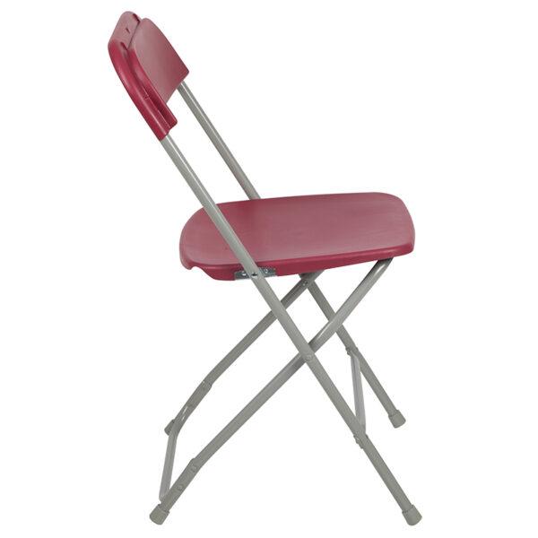 Red Plastic Folding Chair Red Plastic Folding Chair