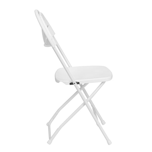 White Plastic Folding Chair White Plastic Folding Chair
