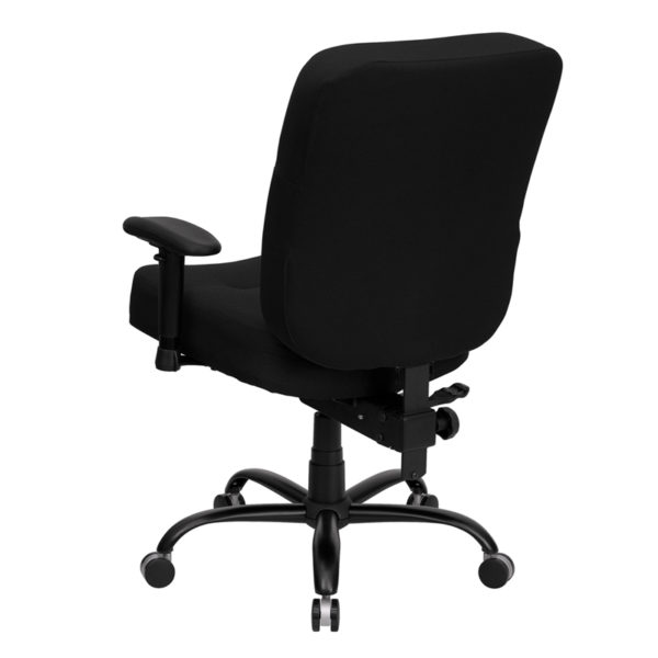 Contemporary Big & Tall Office Chair Black 400LB High Back Chair