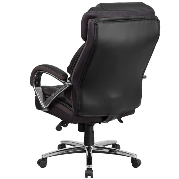 Contemporary Big & Tall Office Chair Black 500LB High Back Chair
