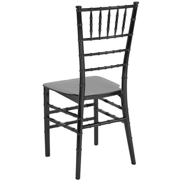 Chiavari Seating Black Resin Chiavari Chair